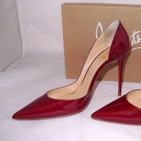 c9856bfe438 Christian Louboutin Shoes - Christian Louboutin Iriza Pump in Rouge Imperial